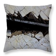 The Hills That Fossil Throw Pillow