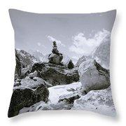 The Himalayas Throw Pillow