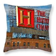 The History Channel Throw Pillow