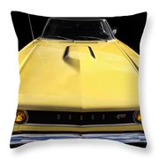 The Hood Goes On Forever Throw Pillow