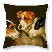 The Hounds Throw Pillow