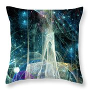 The Ice Castle 1 Throw Pillow