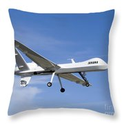 The Ikhana Unmanned Aircraft Throw Pillow
