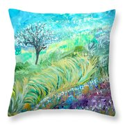 The In-between Hour Throw Pillow