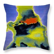 The Ink Blot Throw Pillow