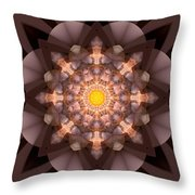 The Inner Radiance Throw Pillow