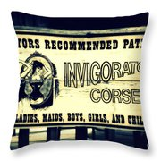 The Invigorator Throw Pillow