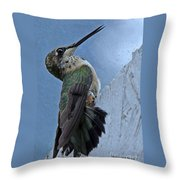 The Invisible Barrier 2 Throw Pillow