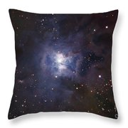 The Iris Nebula Throw Pillow