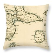 The Islands Of Guadeloupe Throw Pillow