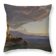 The Isle Of Capri Throw Pillow