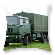 The Iveco M250 Used By The Belgian Army Throw Pillow