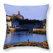The James Joyce Tower, Sandycove, Co Throw Pillow