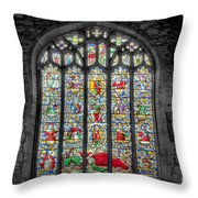 The Jesse Window  Throw Pillow