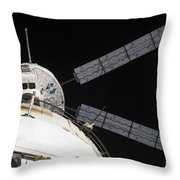 The Johannes Kepler Automated Transfer Throw Pillow