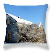 The Johnsons Throw Pillow