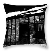 The Jones  Throw Pillow by Empty Wall
