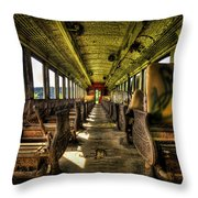 The Journey Ends Throw Pillow