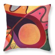 The Joy Of Design I Part Four Throw Pillow