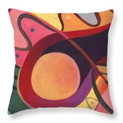 The Joy Of Design I Part Three Throw Pillow