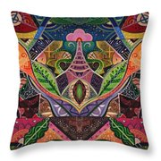 The Joy Of Design Series Arrangement Cornucopia Throw Pillow
