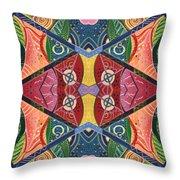 The Joy Of Design V Arrangement Hanging In The Balance Throw Pillow