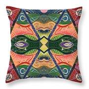 The Joy Of Design V Arrangement Nature Matters Throw Pillow