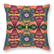 The Joy Of Design V Arrangement Strength In Numbers Throw Pillow
