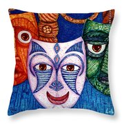 The Joy  The Anger And The Fear  Throw Pillow