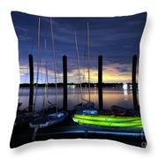 The Kayak Throw Pillow