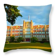 The Keys Of Knowledge Throw Pillow