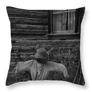 The Kind Lady Throw Pillow