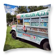 The Kindness Bus 1 Throw Pillow