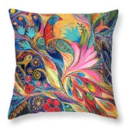 The King Bird. The Original Can Be Purchased Directly From Www.elenakotliarker.com Throw Pillow