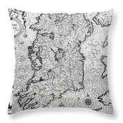 The Kingdom Of Ireland Throw Pillow