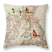 The Kingdoms Of England And Scotland Throw Pillow