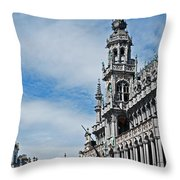 The King's House Throw Pillow