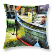 The Lady Daphne  Throw Pillow