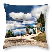 The Last Chair Throw Pillow