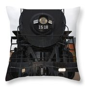 The Last Iron Horse Loc 1518 In Paducah Ky Throw Pillow