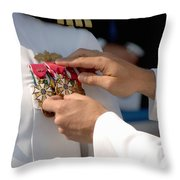 The Legion Of Merit Medal Throw Pillow