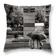 The Leisurely Life Throw Pillow