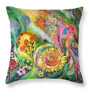 The Levant Village Throw Pillow
