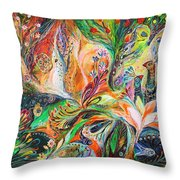 The Light And Wind Throw Pillow