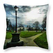 The Light Of A Winter's Day Throw Pillow