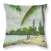 The Lighthouse - Zanzibar Throw Pillow