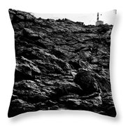 The Lighthouse1 Throw Pillow
