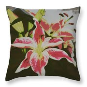 The Lily 1 Throw Pillow