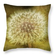 The Lion's Tooth Throw Pillow