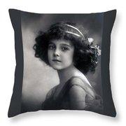 The Litte Angel 1911 Throw Pillow